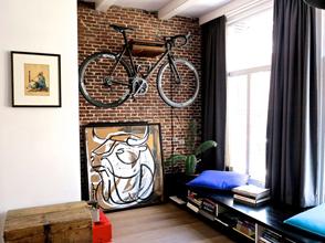 Велосипед в квартире – как не испортить интерьер