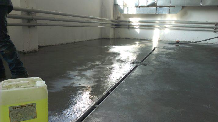 Виды пропиток для бетона