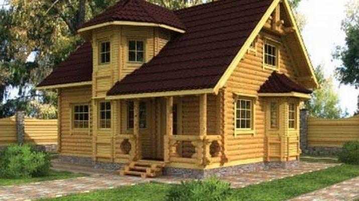 Загородный дом должен быть только деревянный
