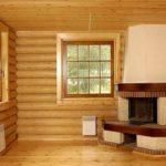Деревянная отделка блок-хаус