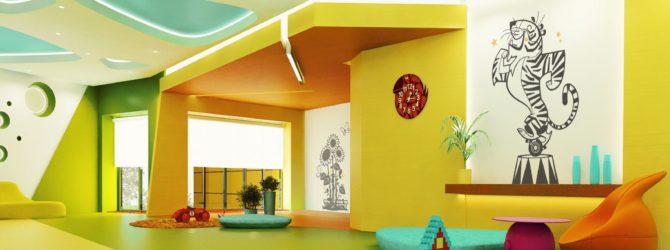 Детский интерьер на даче без ошибок