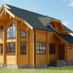 Дома из профилированного бруса и их преимущества