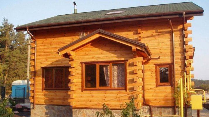 Дома из профилированного бруса и их свойства