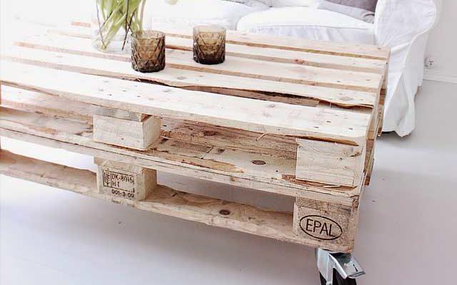 Домашняя мебель из поддонов, сделанная своими руками