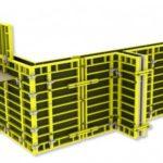 Достоинства аренды стальной строительной опалубки
