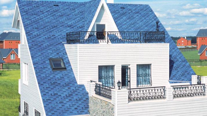 Гибкая черепица - от простой до самой оригинальной крыш