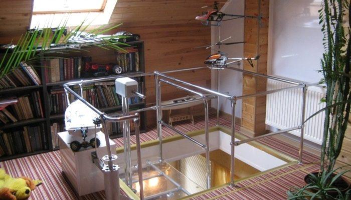 Как сделать лифт в частном доме