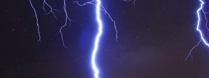 Как защитить дачу от молнии