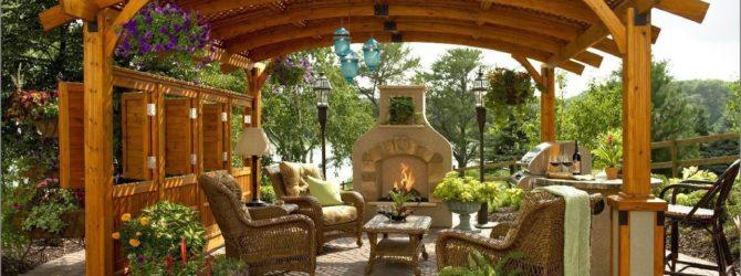 Какую мебель выбрать для отдыха на даче