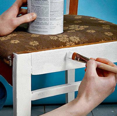 Краска для деревянной мебели