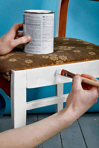 Какой краской лучше красить мебель