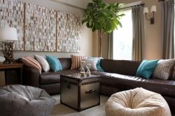 Кресло-мешок или бинбэг - идея для креативного интерьера