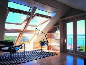 Мансардное окно в архитектуре