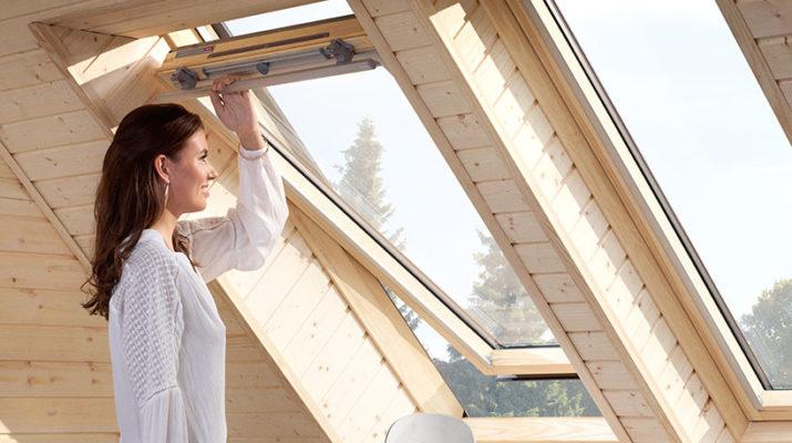 Мансардные окна ПВХ - комната с видом на небо