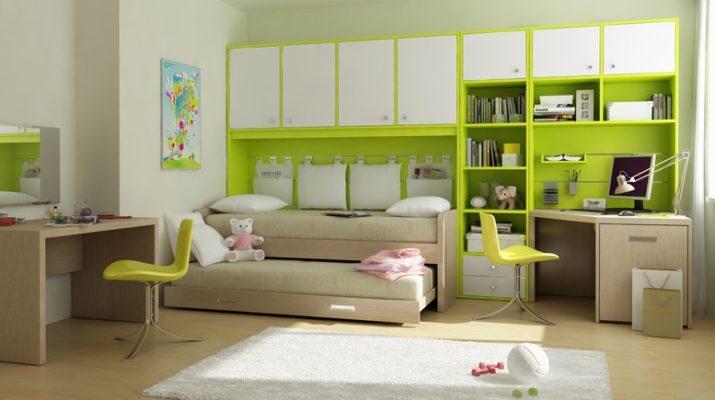 Модульная мебель детской комнаты для мальчиков
