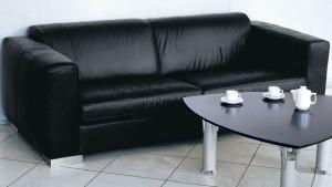 Мягкая мебель в офисном помещении