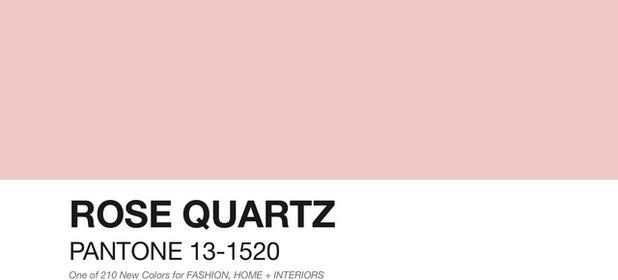 Новый тренд этого года оттенок под названием «розовый кварц»