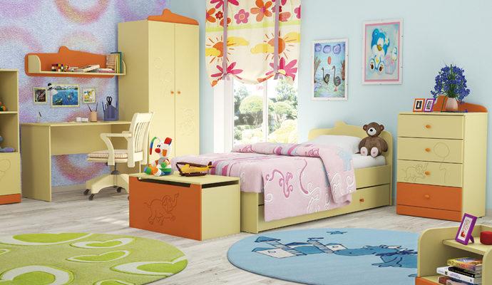 Обустройство детской комнаты - общие вопросы