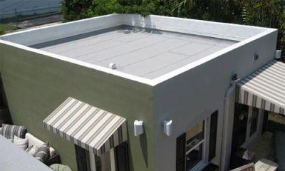 Особенности плоских крыш