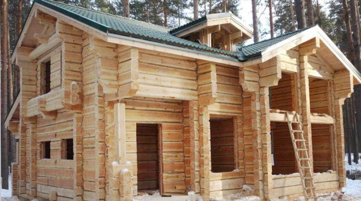 Особенности строительства деревянного дачного дома