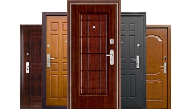 Разные классы входных дверей