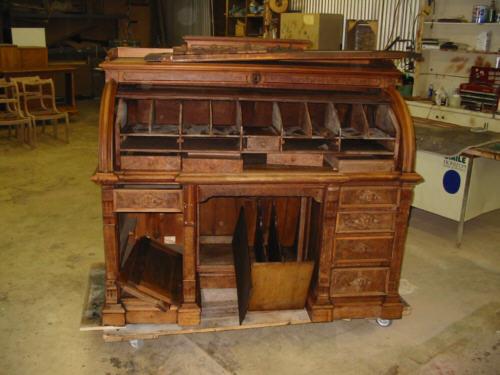 Рекомендации к реставрации мебели из дерева
