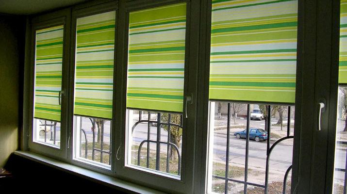 Рулонные шторы - современная классика по декорированию окон