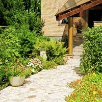 Самые красивые садовые дорожки на даче