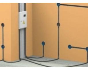 Скрытая проводка – идеальное решение для деревянного дома