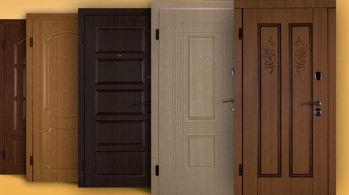 Сравнение деревянных и металлических дверей