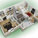Средняя цена на дизайн проект квартиры в Москве