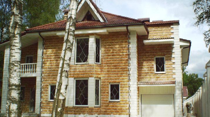 Строительство кирпичного дачного дома