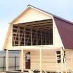 Строительство крыши дачного дома своими руками