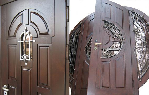 Усиленные конструкции входных дверей