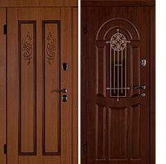 Усиленные стальные двери