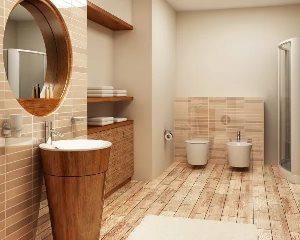 Декоративная отделка ванной комнаты