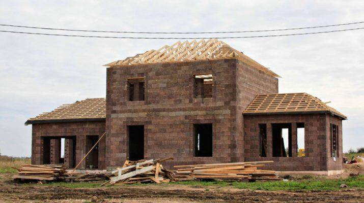 ЭКО дом из блоков Дюрисол