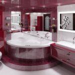 Стоимость ремонта и отделки ванной комнаты и туалета в Санкт-Петербурге