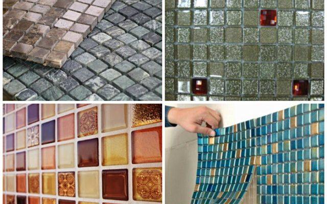Как класть мозаичную плитку