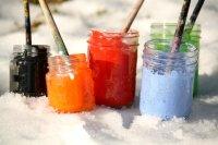 Как красить в мороз
