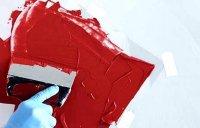 Как наносить акриловую краску