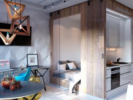 Как превратить 30 квадратов в яркую, стильную и функциональную квартиру