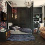Лондон в миниатюре: потрясающие апартаменты в британском стиле на 32 кв м