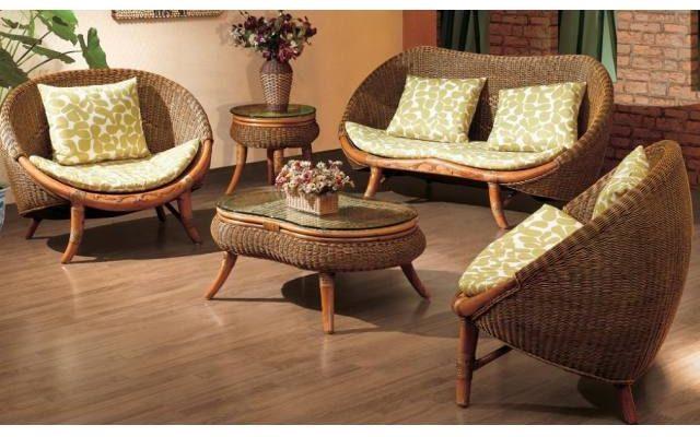 Мебель из ротанга. Королевский шик в каждом доме