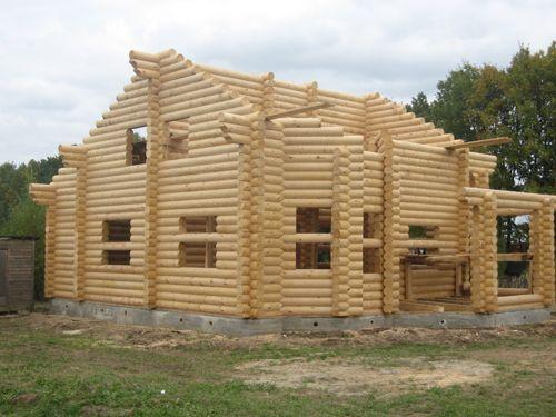 Насколько быстро будет готов Ваш новый дом из оцилиндрованного бревна