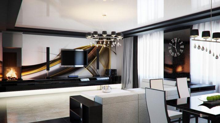Натяжные потолки в квартире – свежий тренд в московских ремонтах