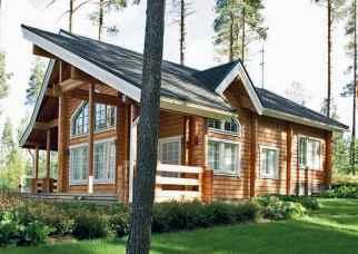 Ожидание деревянного дома