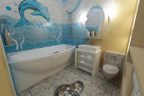 Плитка на стену в ванную комнату