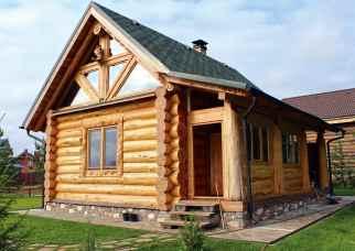 Строим дом из бревна