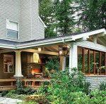 Строим летнюю веранду на даче